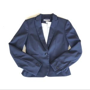 NWT H&M Navy Fitted Blazer   4   Small